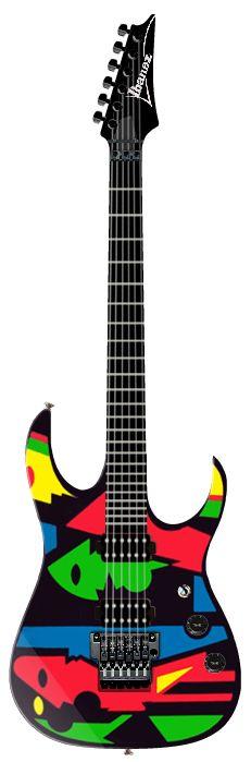 Ibanez John Petrucci. He kept the same wood, electronics & pickups for his MusicMan signature line.