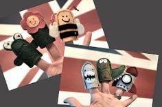 maja.: Felt Finger Puppets