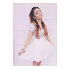 Niki in Gabi's style. She looks amazing. ♡♡♡ nikiandgabibeauty