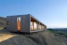 WMR Arquitectos Photo 12 of 37 in Surf Shacks by Chris Deam Contemporary Architecture, Architecture Design, Prefab Buildings, Casas Containers, Container Buildings, Surf Shack, Tiny House Cabin, Architect House, Prefab Homes