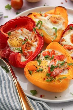 Spices, Herbs, Lunch, Stuffed Peppers, Baking, Vegetables, Menu, Food, Tomatoes
