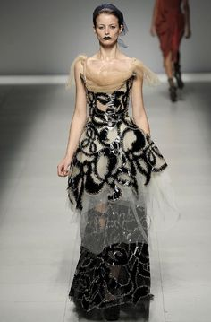 Vivienne Westwood Evening gown, couture, evening dresses, formal and elegant
