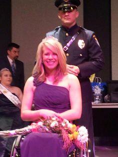 Ms. Wheelchair Oklahoma 2013 is Kelsey Eisenhour-Ballhorn