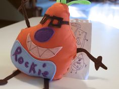 How to Make a Stuffed Toy From a Drawing - Great idea for a favorite child's picture.