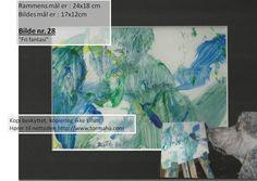 Maleri malt av hunden Zanto til salgs.
