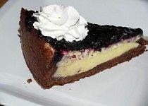 Borůvkový koláč s krémem Cheesecake, Pie, Food, Cakes, Treats, Torte, Sweet Like Candy, Cake, Goodies