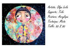 Femme marocaine Artiste Peintre Olga Leila