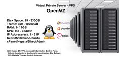 GswHosting is a cheap OpenVZ VPS web hosting package dealer with more than 5 years of experience in the virtual server business. Gain your VPS server instantly with a variety of OS's, a charge-free Control Panel & a charge-free IP address. No setup costs.