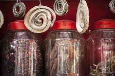 500 Piece Puzzle. China, Xinjiang, Kashgar. Dried snakes for
