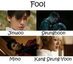 K Pop, Winner Kpop, Color Coded Lyrics, Look At My, Kang Seung Yoon, The Fool, Names, Movie Posters, Movies