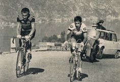 Giro di Lombardia 1964 Gianni Motta with Tom Simpson