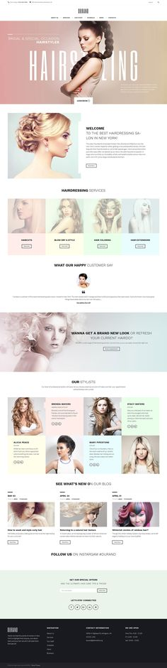Check out this stylish Hair Salon WordPress Theme, and use it to create your own responsive beauty blog, magazine or business website.Build pages easily and without touching a single line of code with our flexible power Builder. Take advantage of 25+ modu…