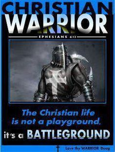 "Ephesians 6:13-17 ""take up the full armor of God, so that you will be able to resist in the evil day, and having done everything, to stand firm. Stand firm, having girded your loins with truth,having put on the breastplate of righteousness, having shod your feet with the preparation of the gospel of peace; taking up the shield of faith with which you will be able to extinguish the flaming arrows of the evil one.Take the helmet of salvation, and the sword of the Spirit, which is the word of…"