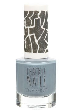 Topshop 'Crackle' Nail Polish available #Nordstrom