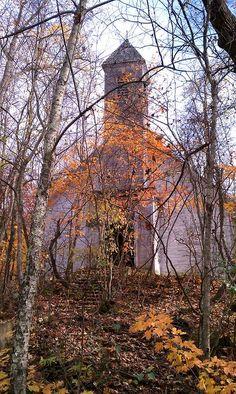 Abandoned church, Hemlock, Ohio