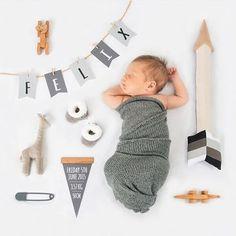 Now that's a birth announcement! ❤️ @smallprints.com.au
