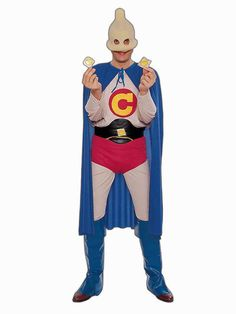 Halloween Captain Condom Costume for Adults