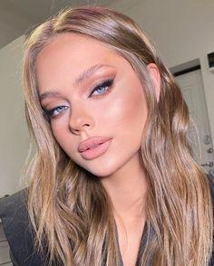 Glam Makeup Look, Makeup Eye Looks, Gorgeous Makeup, Pretty Makeup, Skin Makeup, Hair And Makeup, Blonde Makeup, Pink Eye Makeup, Glamour Makeup
