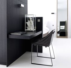 home office - Studio Apartment in Amsterdam The Netherlands by  Piet Boon