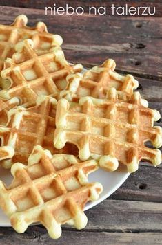 Polish Desserts, Polish Recipes, Crepes And Waffles, Rolls Recipe, Diy Food, Sweet Tooth, Vegan Recipes, Food And Drink, Yummy Food