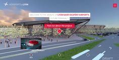 Future Terminal 1: Lyon Airports - Site of the Day December 23 2014