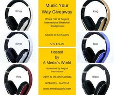 Music Your Way Giveaway! Music Your Way Giveaway Hosted by A...