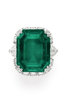A Suite of Emerald and Diamond Jewelry_By BVLGARI_Ring Estimate $600,000-800,000