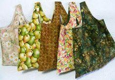 Shopping Bag - Sewing Tutorial  1 yd wonder