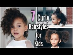 7 Curly Hairstyles for Kids                                                                                                                                                      More