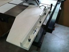 Mid size table saw crosscut panel sled - Woodworking Talk - Woodworkers Forum