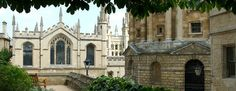 Exeter College Oxford Exeter College, Oxford United Kingdom, Oxford City, The Golden Compass, His Dark Materials, Dream City, Mansions, House Styles, Image