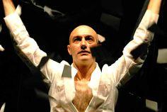 """""""A. H."""" di Antonio #Latella. In foto Francesco Manetti. Foto di Brunella Giolivo. #Teatro delle Passioni, #Modena, dal 22 al 24 ottobre 2013"""