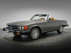 1985 Mercedes W 107 cabrio wallpaper