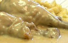 Куриные голени в сметане - сочное, мягкое и очень нежное мясо под сметанным соусом!