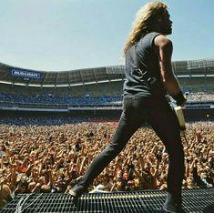Metallica Concert, Leather Pants, Fashion, Leather Jogger Pants, Moda, Fashion Styles, Lederhosen, Leather Leggings, Fashion Illustrations