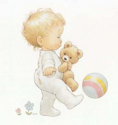 Baby boy illustration image sweets 48 Ideas for 2019