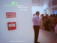 El #MGC9ed en el @CACMalaga.  EMERGENCIA Cultural, Gestores formándose.