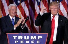 VP-e+Mike+Pence+congratulates+our+new+President