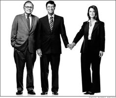 Warren Buffet with Bill  Melinda Gates - three truly great and remarkable people.