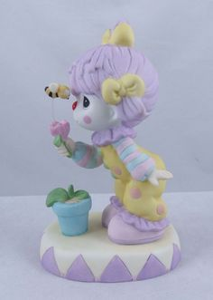 Precious Moments Clown w/ Flower and Bumble Bee  PM-133008