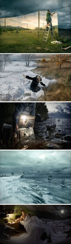 Anyone know the name of the artist? Know I have seen it (in a behind the scenes look at the ship photo), but can't remember. Doesn't say where I found the collage. :( UPDATE: artist is Erik Johansson