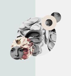 collage rétro