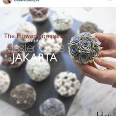 The Flower Company will be heading to Indonesia for the 1st time! After her huge success with her 1st overseas class in bangkok in April 2016, The Flower Company has decided to hold her classes in Jakarta on July 2016! Well-known for her natural and delicate flowers, Ms Kim Sun Hee of The Flower Company will be having a hands-on, 4-day intensive Master class in which she will share her knowledge on both colouring and piping technique  Students will get to learn how to recreate The Flower…