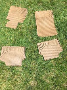 Bmw Rubber Floor mats 3 series all models Full set. Rubber Floor Mats, Rubber Flooring, Picnic Blanket, Outdoor Blanket, Cool Stuff For Sale, Bmw 3 Series, Full Set, Selling On Ebay, Beige