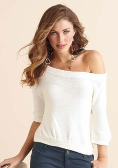 love off the shoulder look
