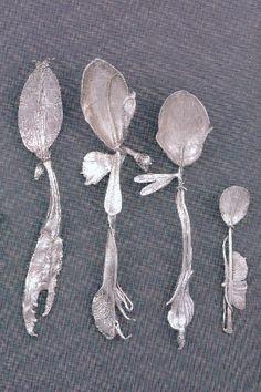 art nouveau spoons | Art Nouveau Silver of Naturalistic Spoon (日本語)