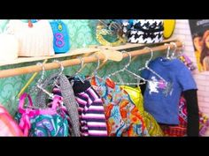 ▶ How to Make Doll Hangers - YouTube