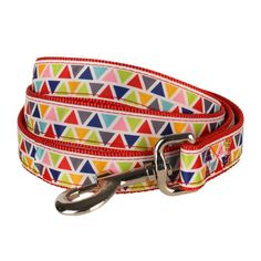 Blueberry Pet Durable Vibrant Triangle Pattern Dog Leash 4 ft x 1 Large Nylon Leashes for Dogs -- Learn more by visiting the image link.Note:It is affiliate link to Amazon.