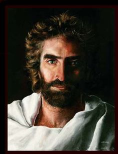 """http://www.artakiane.com/    Akaine Child Prodigy - painting of Jesus - this painting, according to the kid from the book """"Heaven is for Real"""" is the only image of Jesus that he has seen which is accurate...simply beautiful."""