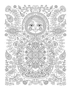 Coloring Pages Center Of Moscow Countries Russia
